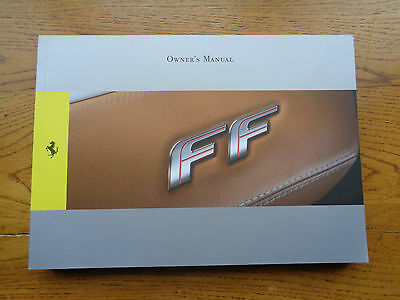Ferrari FF Owners Handbook/Manual