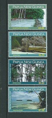 Papua New Guinea 2010 Climate Change Set Of 4 Unmounted Mint,mnh