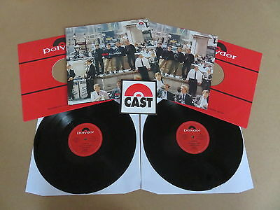 CAST All Change POLYDOR 2x LP & BOOKLET RARE MISPRINTED UK 1ST PRESSING THE LA's