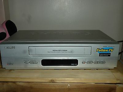 Philips VR550 VHS VCR Video recorder player NICAM ,Turbo Drive