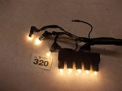 Honda CX500 Z A B Warning lamps, Idiot lights, console lamps, meter lights