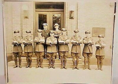Early Photo Ny - Nj Port Authority  Police  - Outerbridge Crossing Named Ca 1930