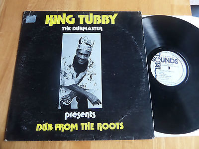 King Tubby The Dubmaster Presents Dub From The Roots-Rare Total Sounds Ja Lp Ex