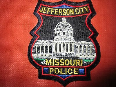 Collectible Missouri Police Patch Jefferson City Capital New