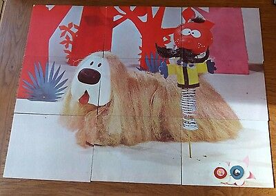 Vintage Magic Roundabout Puzzle/Story Cards
