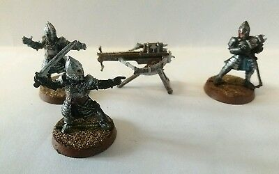 games workshop  Lord of the rings metal gondor avenger