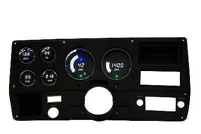 Chevy Truck DIGITAL DASH PANEL FOR 1973-1987 Gauges GMC Intellitronix WHITE LEDs