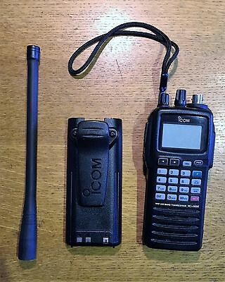 ICOM VHF Air Band ICOM IC-A6E Transceiver with Charger BC-108