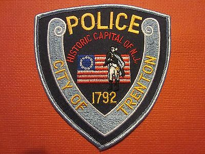 Collectible New Jersey Police Patch Trenton Capital City New