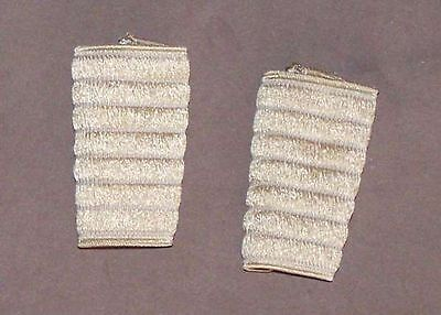 Pair of protections, sleeves elastic for Accordion. beige