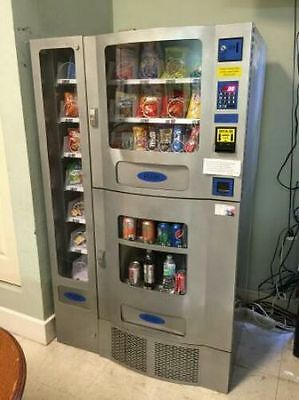 new seaga Vending Machine  Office combo deli Soda Snack AP Coke Pepsi FOOD TRUCK