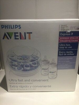 AVENT Ultra Fast And Convenient Microwave Sterilizer.  $29.99