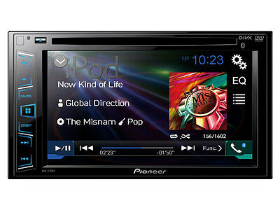 "Pioneer AVH-270BT DVD Receiver w/ 6.2"" Display and Bluetooth AVH270BT B"