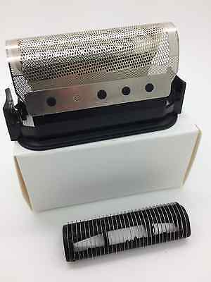BRAUN 428 MICRON 1000, 2000 FOIL 5428, and CUTTER Block. UK Stock