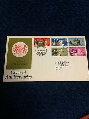 First Day Cover 1970