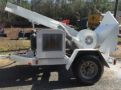 2000 Model Altec WC12 Woodchuck Wood Chipper Brush Chipper