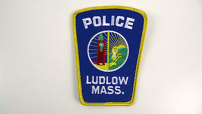 Ludlow, Massachusetts, Police Dept Patch