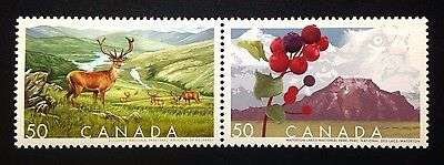 Canada #2105-2106a MNH, Biosphere Reserves Pair of Stamps 2005