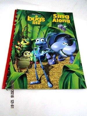 Disney/Pixar A BUG'S LIFE Sing Along Book 1998