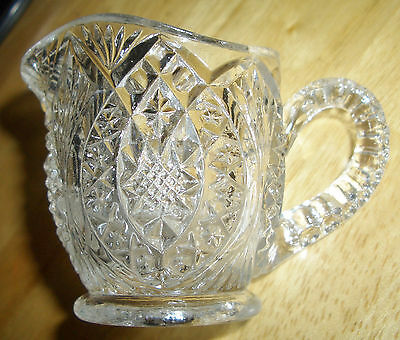 Antique Madora Or Arrow Head In Ovals Child's Creamer Higbee 1908 To 1918  Not R
