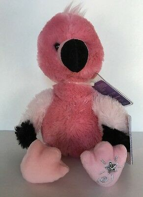 Russ Berrie Shining Stars Pink FLAMINGO Plush Limited edit NEW with all tags!!!