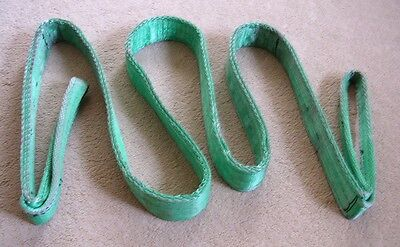 Tow Strap 3m long 5cm wide  used at Land Rover Trials