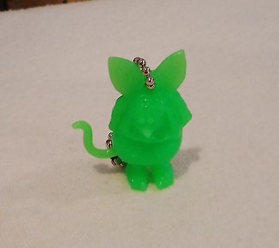 "Great Little Ed Roth ""rat Fink"" Figure Key Chain In Green"