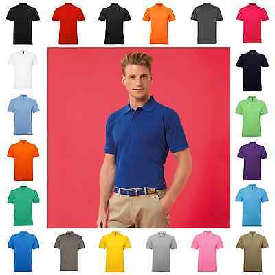 Mens Polo Shirt Poly Cotton Short Sleeve 25 Colours S – 5XL Free PnP
