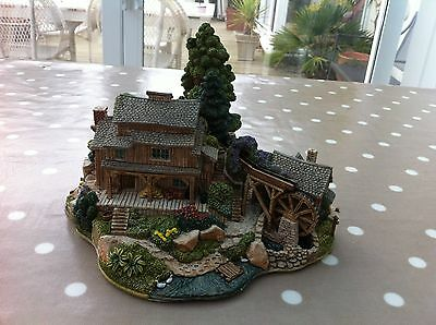 Lilliput Lane TOM SAWYER'S ISLAND Disneyana Special + ORIGINAL BOX & DEEDS