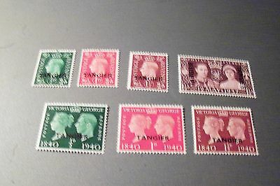 Great Britain # 514-20 MNH Tangier