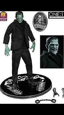 """One 12 Collective Universal Monsters Color Frankenstein Exclusive 6"""" Figure New"""