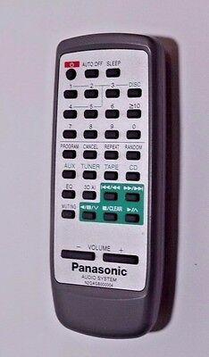 Panasonic N2QAGB000004 Replacement Remote Control for Audio System