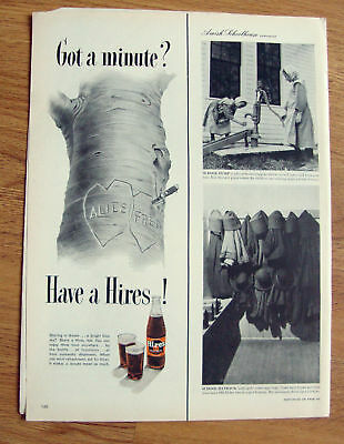 1950 Hires Root Beer Ad  Sharing a Dream Alice & Fred