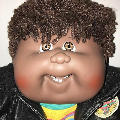 African American AA Cabbage Patch Kids Doll MINT HM19 Boy Designer Line