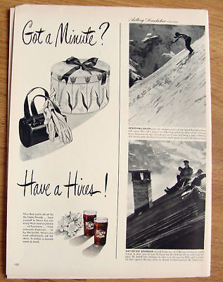 1950 Hires Root Beer Ad  All Set for the Easter Parade