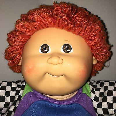 HTF Cabbage Patch Kids Doll HM30 Red Haired Boy