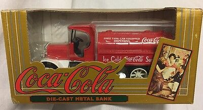 ERTL Coca-Cola Kenworth Tanker RED Delivery Truck DieCast Bank  1994