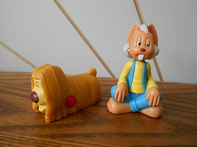 DYLAN AND DOUGAL character toy figures cake toppers THE MAGIC ROUNDABOUT 2005