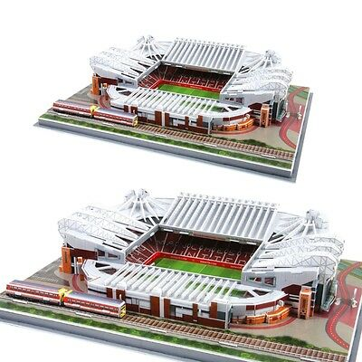 Manchester United Old Trafford Football Stadium Ground 3D Replica Model Puzzle