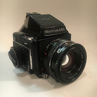 Mamiya M645 With Leaf Shutter 70mm F2.8 Lens And 120 Film Insert!!