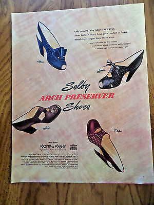 1947 Selby Arch Preserver Shoes Ad