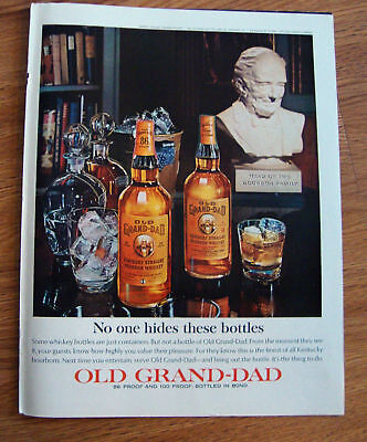 1964 Old Grand-Dad Whiskey Ad