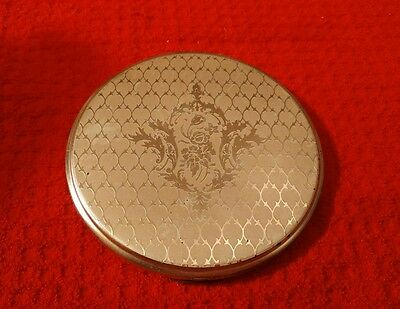 Concord Silverplate Compact with Mirror Vintage