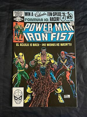 Power Man And Iron Fist #78 3Rd App Sabretooth 9.4 Near Mint