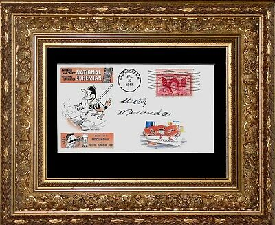 1955 Baltimore Orioles & Steamed Crabs Featured on Collector's Envelope *X190