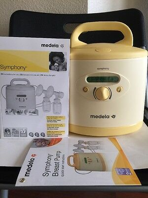 Medela Symphony 2.0 Hospital Grade Breastpump Used 572 Hours With Warranty