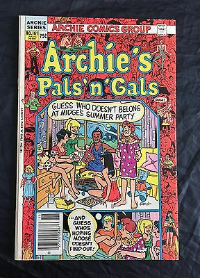 Archie's Pals 'n Gals #161 3Rd App & 1St Solo Cheryl Blossom