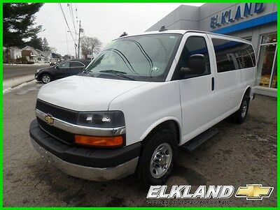 2016 Chevrolet Express 12 Passenger $366 a mon GM Certified Warranty 12 Passenger Only 12000 Miles $366 a mon 6.0 V8 Cruise  Rear Camera