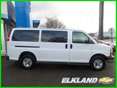 2016 Chevrolet Express 12 Passenger Only 9000 Miles GM Certified Warranty 12 Passenger Van Only 9000 miles 6.0 V8 Rear Camera Rear Heat & Air LT pkg