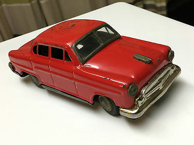 Vintage 1960's Japan Tinplate Battery Operated Toy Car